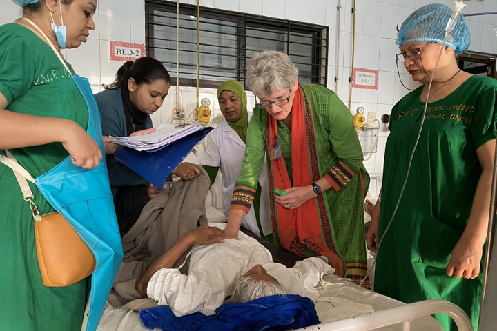 Pelvic Organ Prolapse (POP) Surgical Training Program in Bangladesh and Nepal